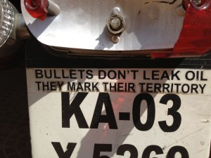 Bullets Dont Leak Oil They mark their teritory